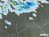 群馬県の雨雲レーダー(予報)