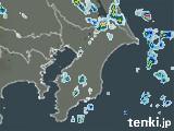 千葉県の雨雲の動き(予報)