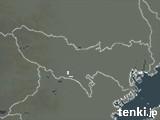東京都の雨雲の動き(予報)