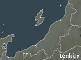 新潟県の雨雲の動き(予報)