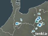 富山県の雨雲の動き(予報)