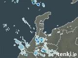 石川県の雨雲の動き(予報)