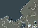福井県の雨雲の動き(予報)