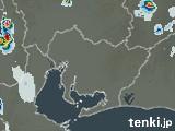 愛知県の雨雲の動き(予報)
