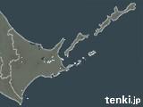 道東の雨雲の動き(予報)