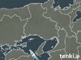 兵庫県の雨雲の動き(予報)