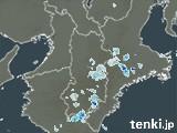 奈良県の雨雲の動き(予報)