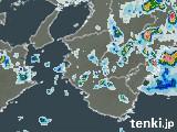 和歌山県の雨雲の動き(予報)