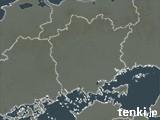 岡山県の雨雲の動き(予報)