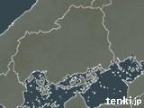広島県の雨雲の動き(予報)