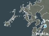 長崎県の雨雲の動き(予報)