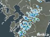 熊本県の雨雲の動き(予報)