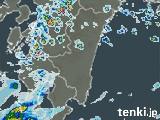 宮崎県の雨雲の動き(予報)