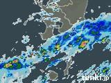 鹿児島県の雨雲の動き(予報)