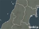 山形県の雨雲の動き(予報)