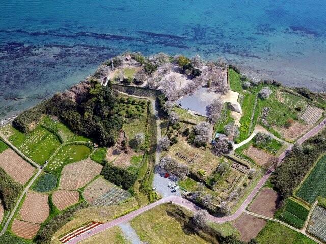 原城跡の写真