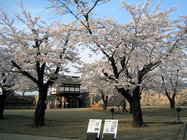 松代城跡の写真