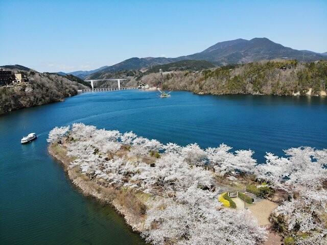恵那峡の写真