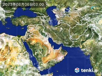 気象衛星(中東)
