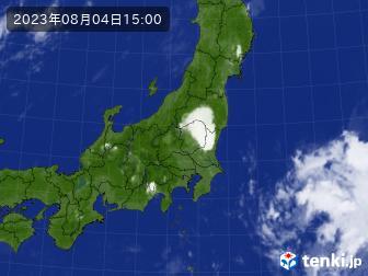 雨雲レーダー 天気予報 横須賀
