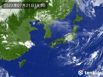 可以看到東亞的天氣