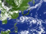 雲の様子(気象衛星)