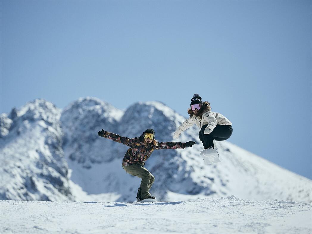 積雪 スキー 場