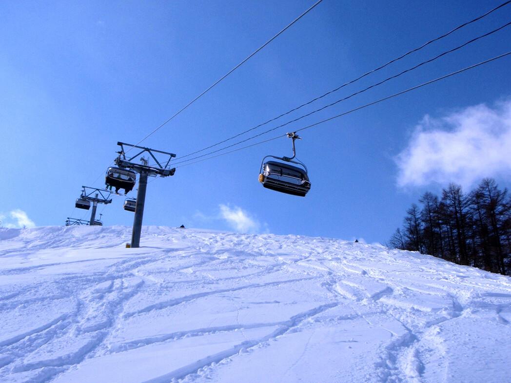 場 スキー 白鳥 高原