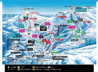 キロロスノーワールドのコース情報