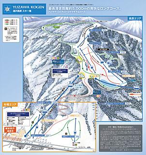 湯沢高原のコース情報
