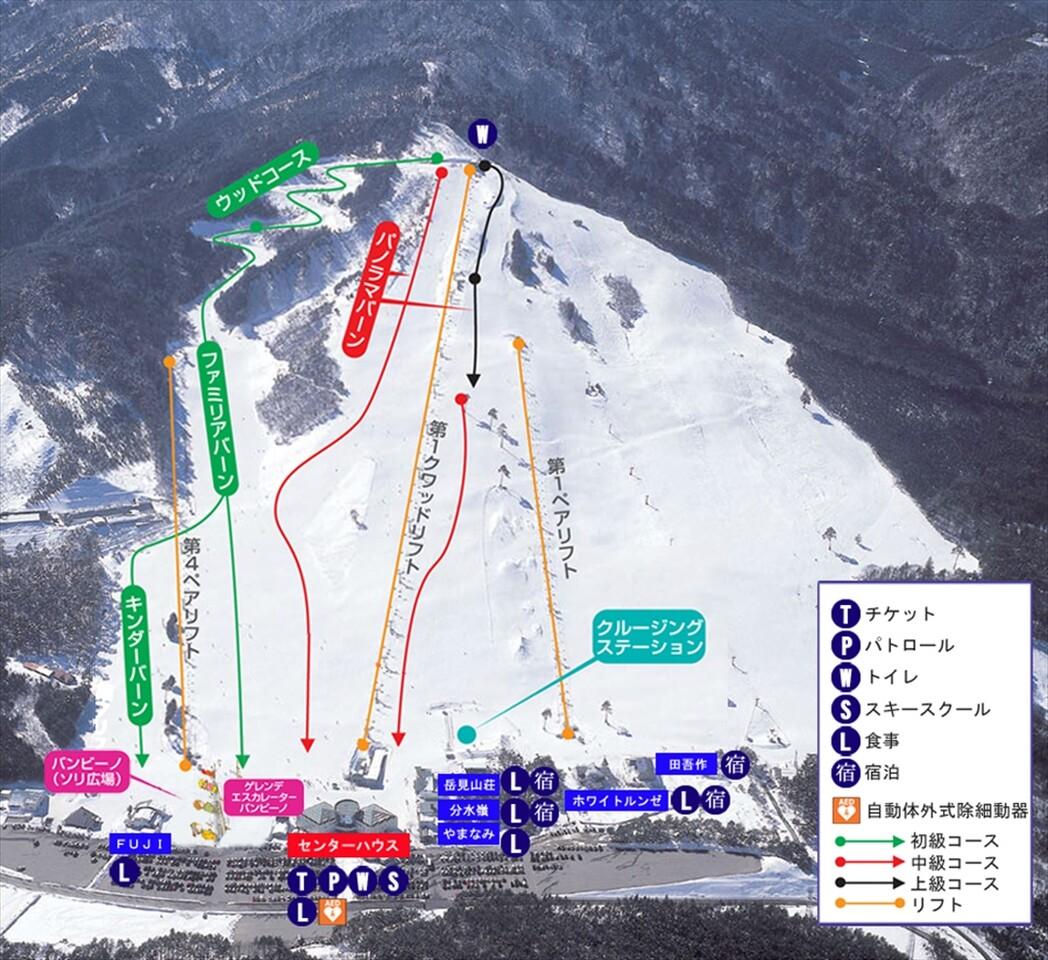 はら 天気 やぶ 場 高原 スキー