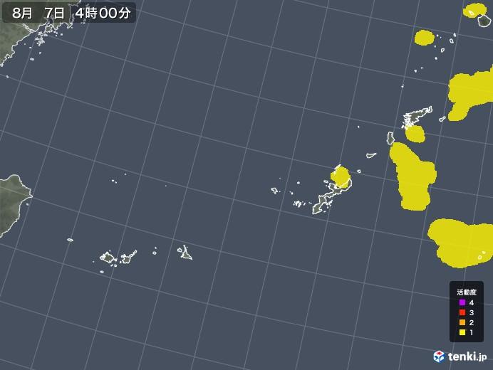 沖縄地方の雷レーダー(予報)