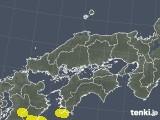 中国地方の雷レーダー(予報)