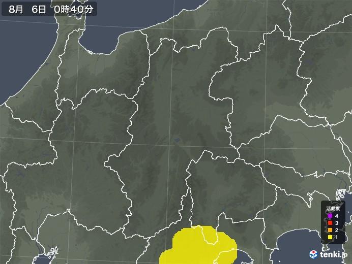 長野県の雷レーダー(予報)