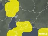 愛知県の雷レーダー(予報)