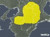 奈良県の雷レーダー(予報)