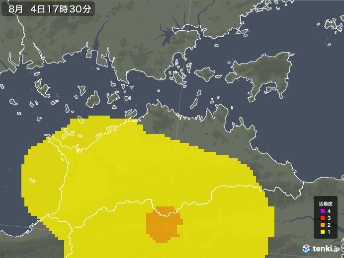 香川県の雷レーダー(予報)