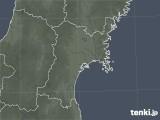 宮城県の雷レーダー(予報)