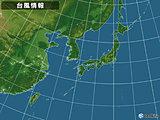 日本付近(22日00:00現在)