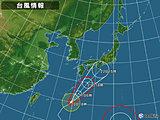 日本付近(20日18:00現在)