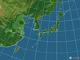 日本付近(19日00:00現在)