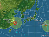 日本付近(2021年07月25日 15時現在)