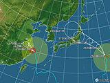 日本付近(2021年07月25日 21時現在)