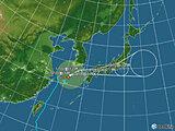 日本付近(2021年09月17日 01時現在)