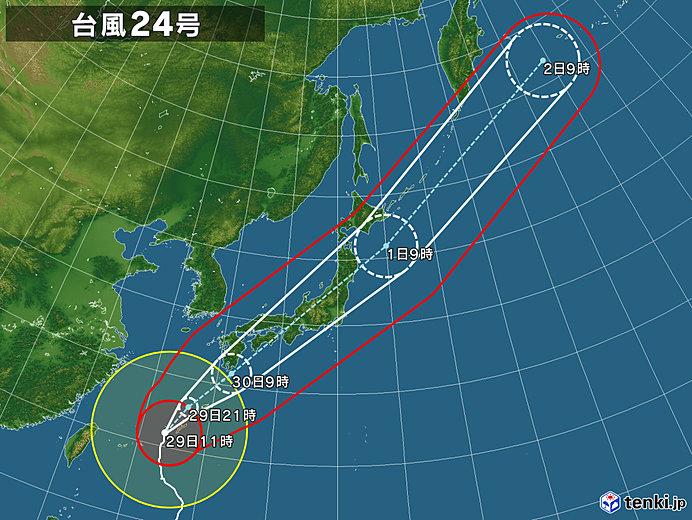 24号拡大(2018年09月29日 11時現在)