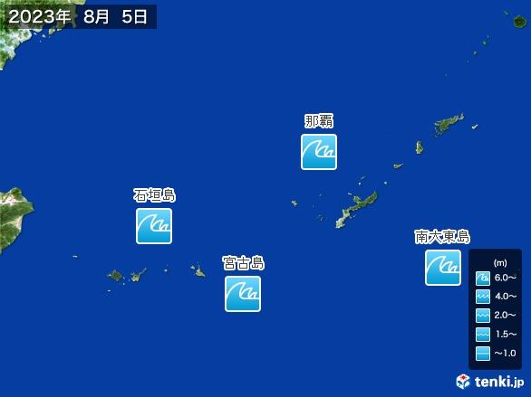 沖縄地方の海の天気