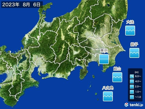 関東・甲信地方の海の天気