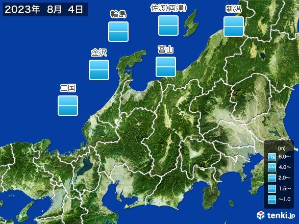 北陸地方の海の天気